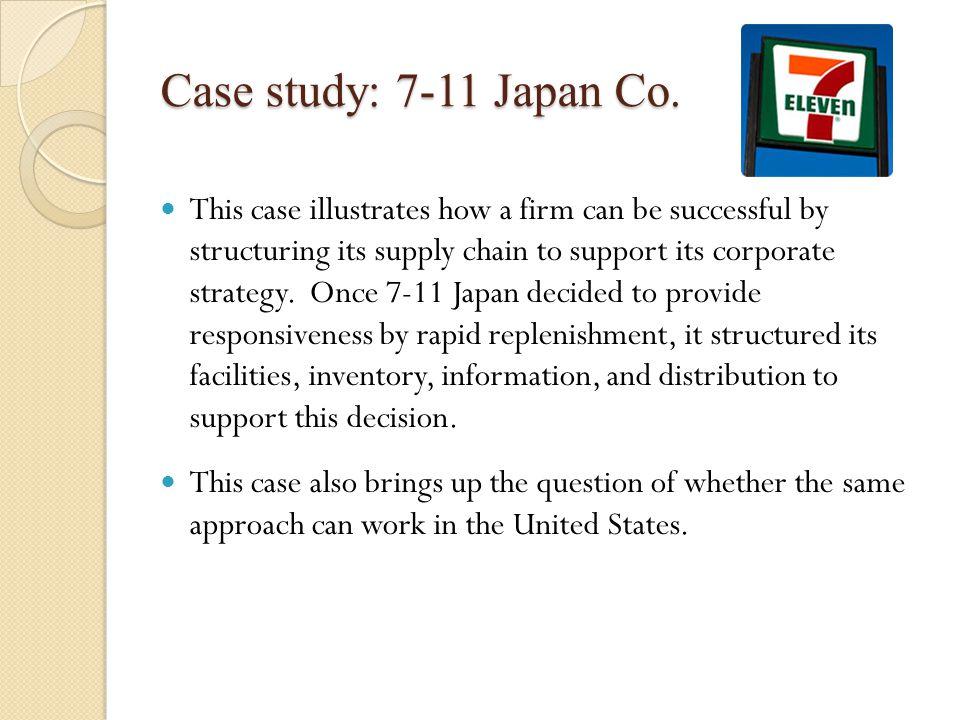 Case study: 7-11 Japan Co.