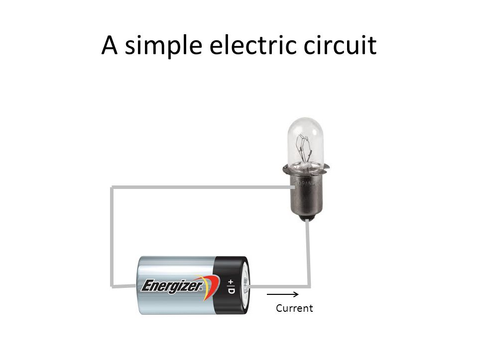A simple electric circuit Electricity is the movement of charge through conductors.