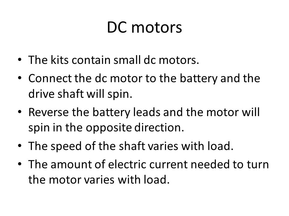 Build your own dc motor Building a dc motor is relatively easy.