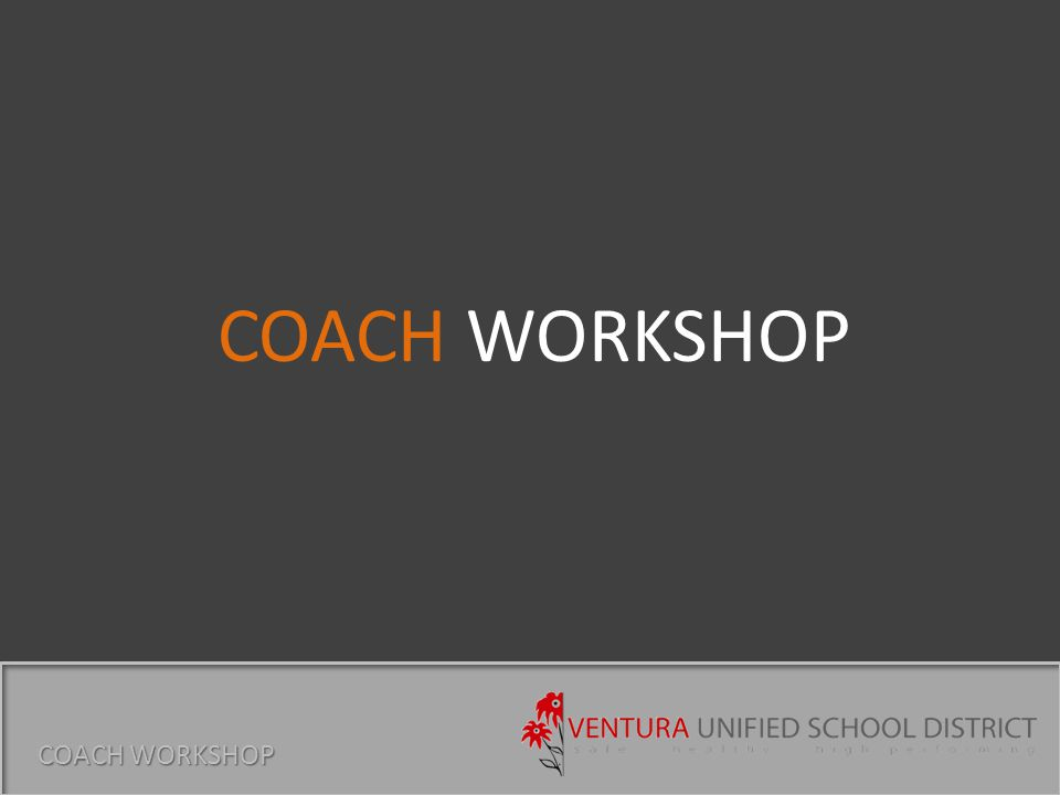District Personal Vehicle Use Field Trip Authorization District Transportation Request Concussion Awareness Participant Release Emergency Contact Athletic Department Participation Contract (High Schools) Contact Eric Reynolds in Risk Management for forms STUDENT ATHLETES COACH WORKSHOP Forms are our friends...