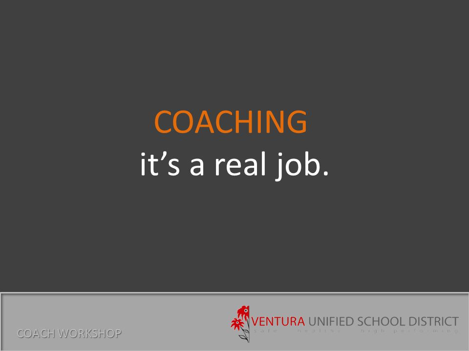 It all starts with a Coach Referral Form.