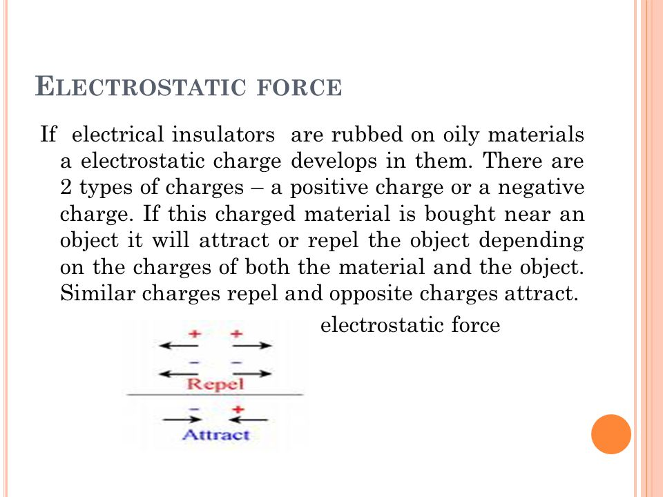 M AGNETIC FORCE It is non- contact force which acts when 2 magnets are bought closer to each other.