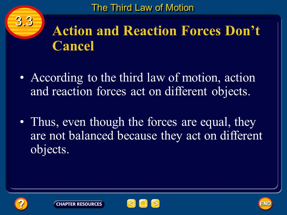 Action and Reaction When a force is applied in nature, a reaction force occurs at the same time. When you jump on a trampoline, for example, you exert