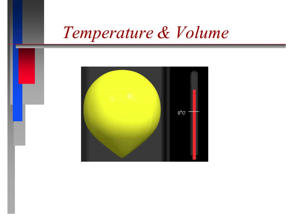 Temperature & Volume