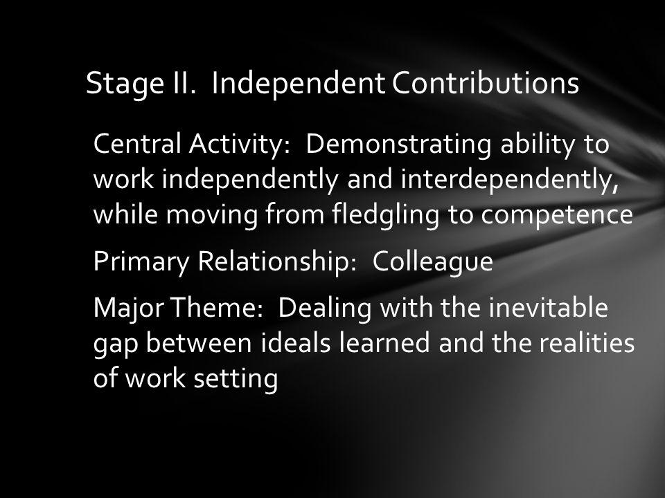 Stage II.