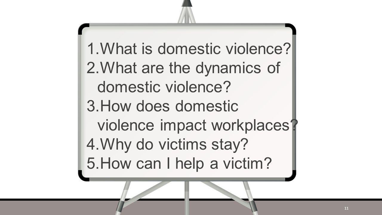 Understanding Domestic Violence 10