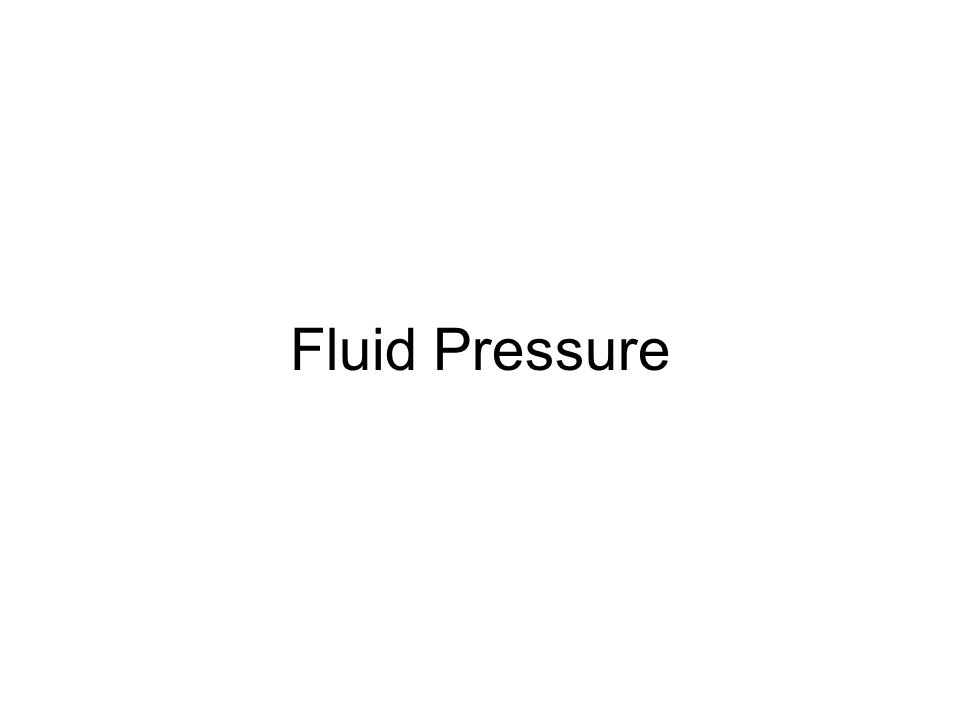 Pressure Pressure- the result of a force distributed over an area Ex 1: A theater's seat exerts less pressure than a bicycle seat because the large padded seat and back offer a larger area to support your weight.