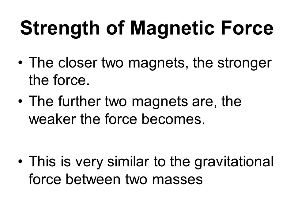 More on Solenoids An iron core creates a stronger magnetic field The more coils, the stronger the magnetic field The more amperage, the stronger the magnetic field