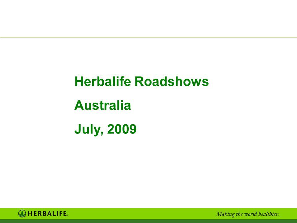 Herbalife Roadshows Australia July, 2009