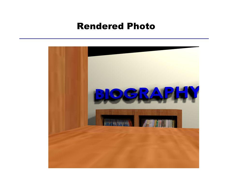 Rendered Photo