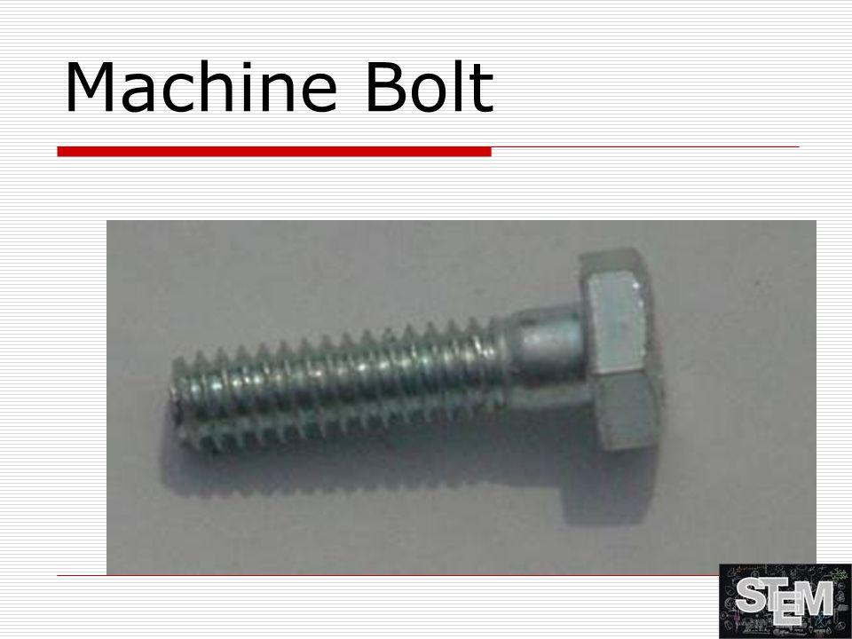 Machine Bolt
