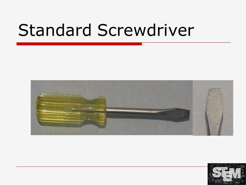 Standard Screwdriver