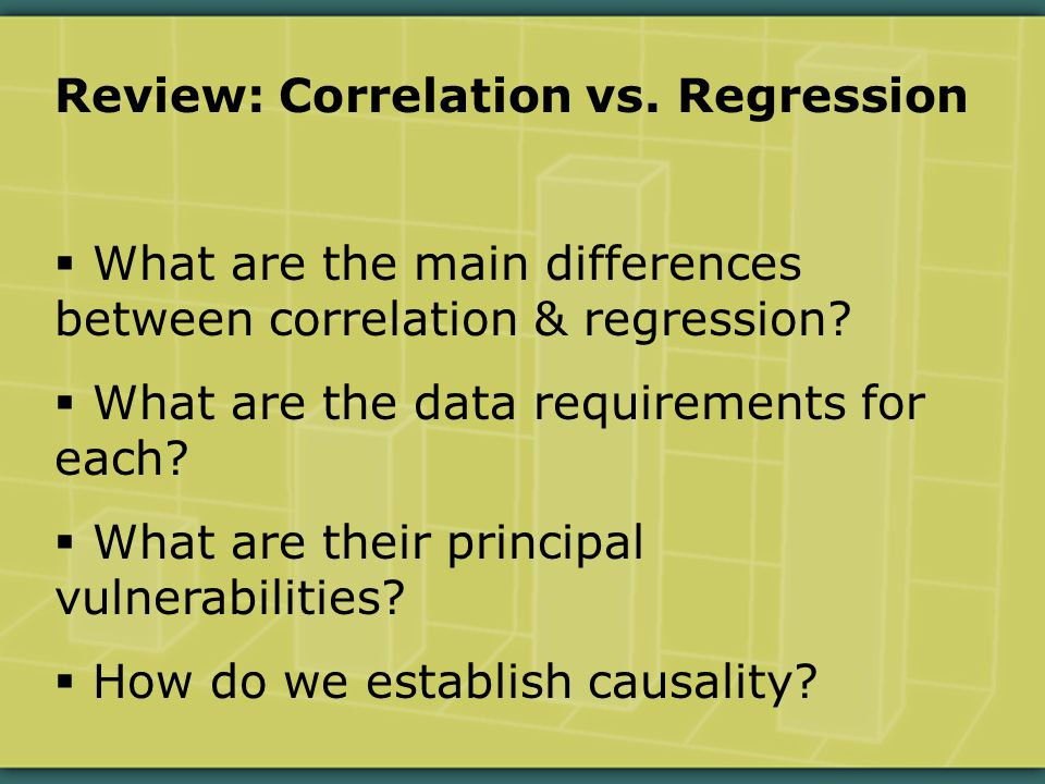  Pearson correlation: a linear association between two quantitative variables.