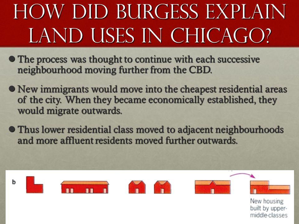 Bid-rent mechanism APPLIES land value decreases with increasing distance.land value decreases with increasing distance.