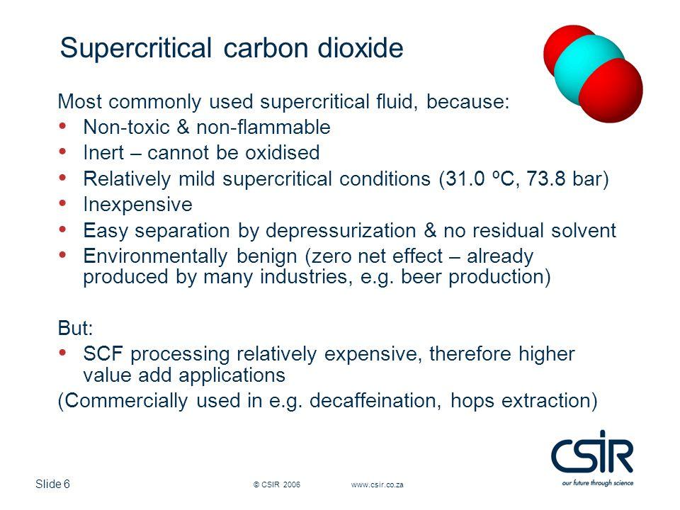 Slide 7 © CSIR 2006 www.csir.co.za