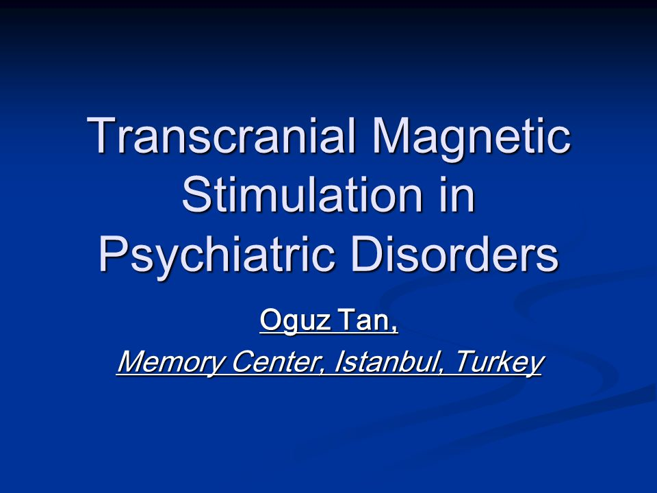 SHAM-CONTROLLED STUDIES 2004 Jorge RE, Robinson RG, Tateno A, et al Jorge RE, Robinson RG, Tateno A, et al Repetitive transcranial magnetic stimulation as treatment of poststroke depression: a preliminary study.