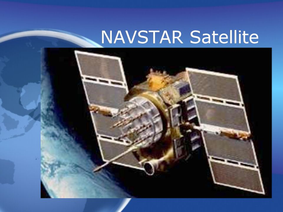 NAVSTAR Satellite