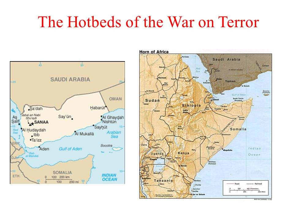 The Hotbeds of the War on Terror