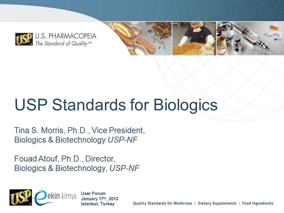 USP Standards for Biologics Tina S.