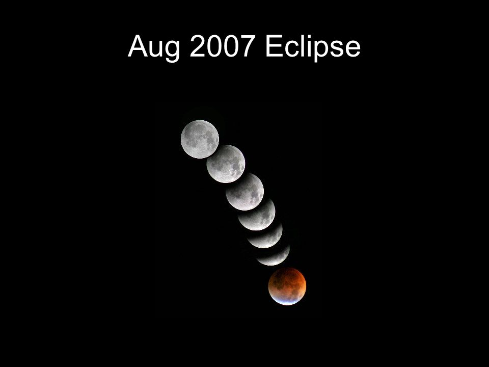 Aug 2007 Eclipse