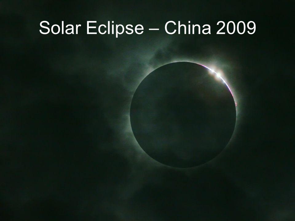 Solar Eclipse – China 2009