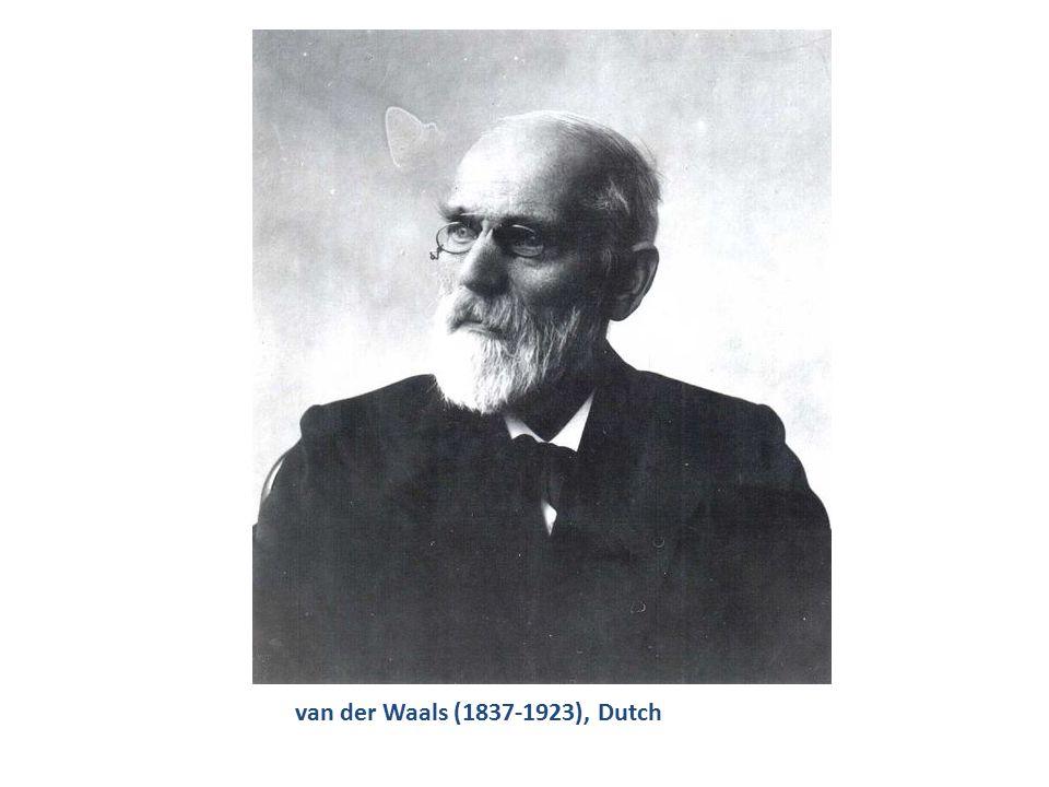 van der Waals (1837-1923), Dutch