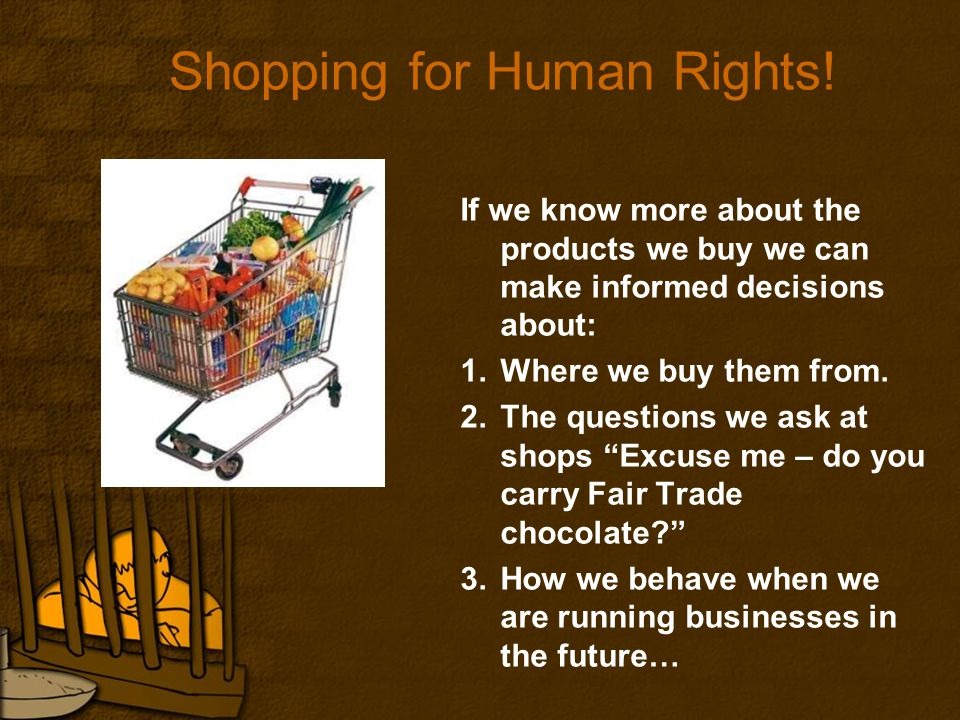 Shopping for Human Rights.