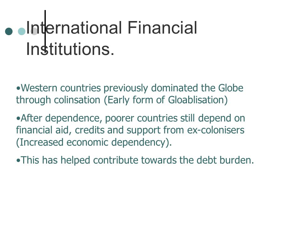 Solutions to the debt problems.1. Rescheduling –Different time 2.