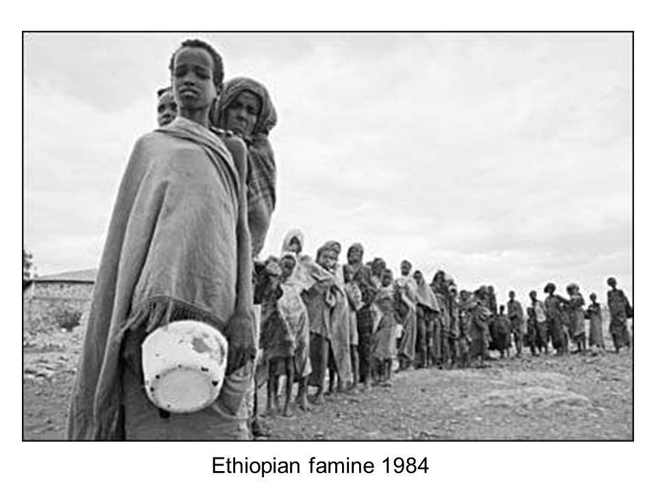 Ethiopian famine 1984