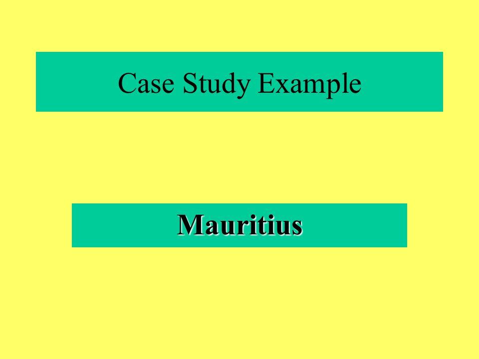 Case Study Example Mauritius