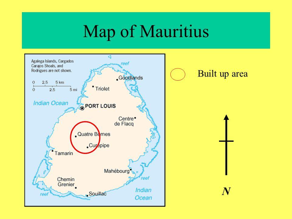 Location Map Mauritius