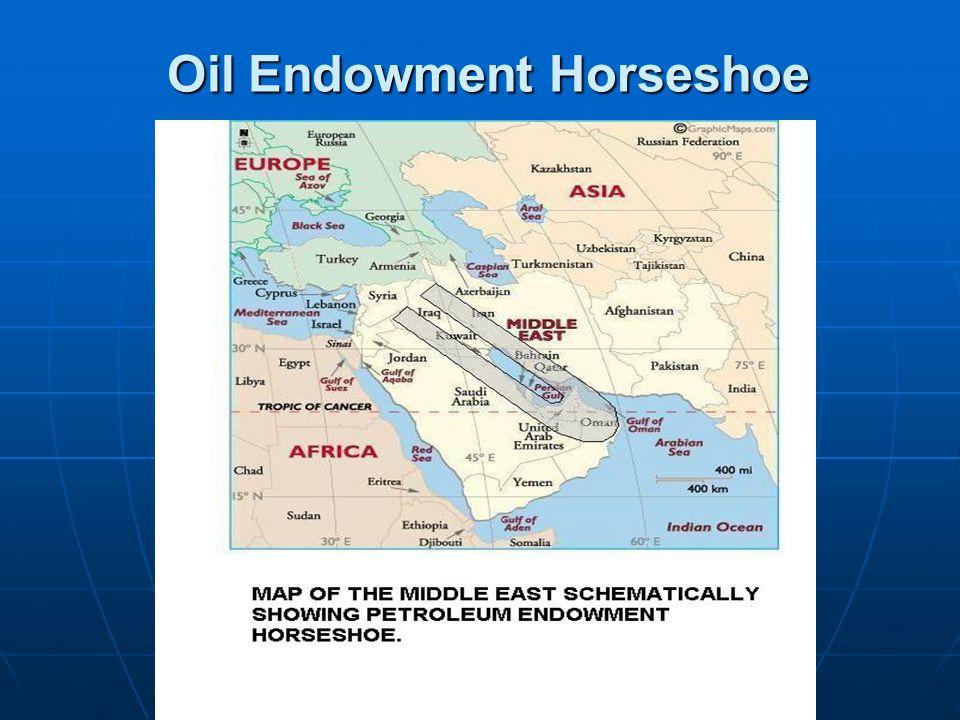 Oil Endowment Horseshoe