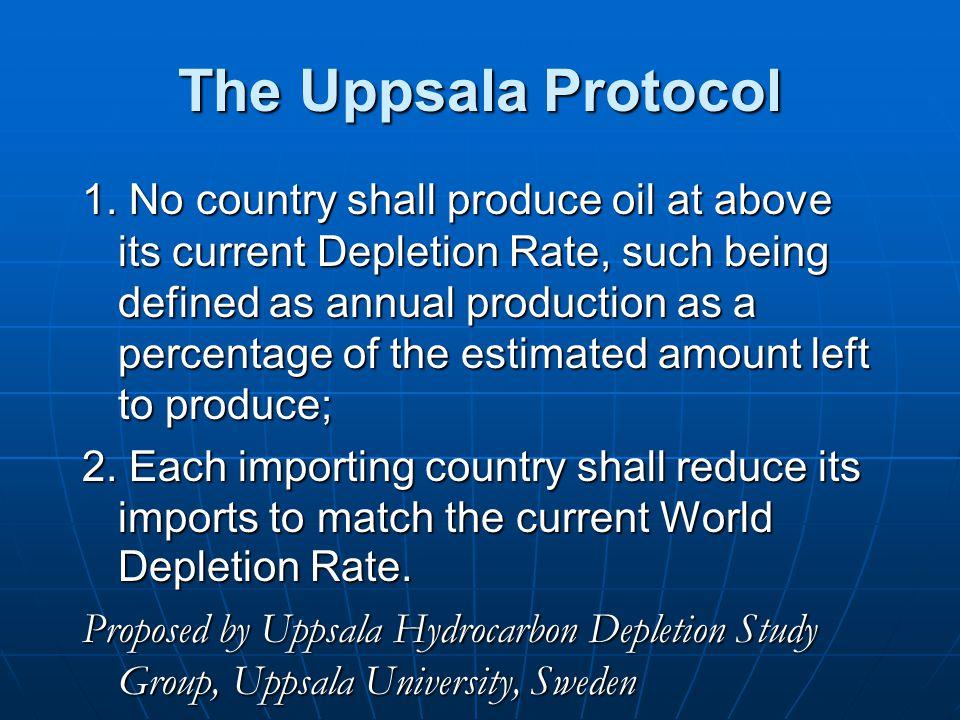 The Uppsala Protocol 1.