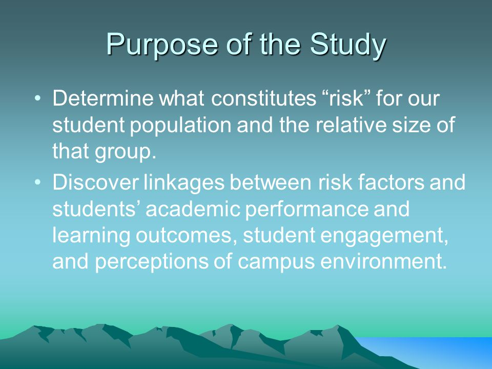 Use of Services SSS participants sought financial aid advising more than the Low Risk (p =.002) and At Risk (p =.001) groups.