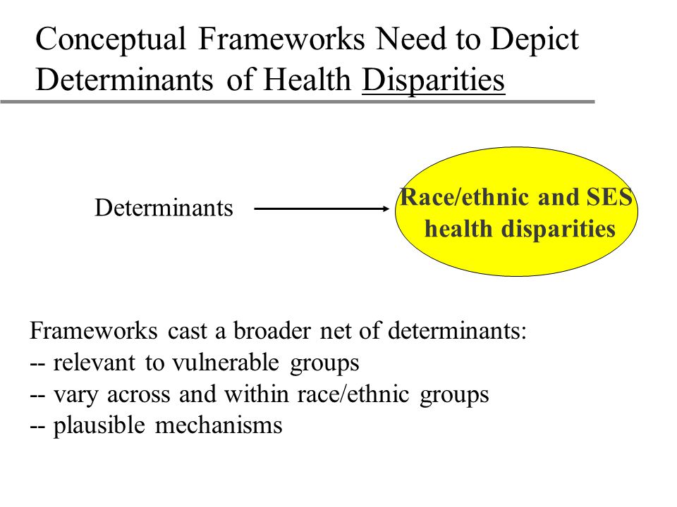 Research Questions on How Interpersonal Processes Affect Disparities u What are the effects on health of differences in: –Communication –Elicitation of patient concerns –Respectfulness –Perceived discrimination –Participatory decision making