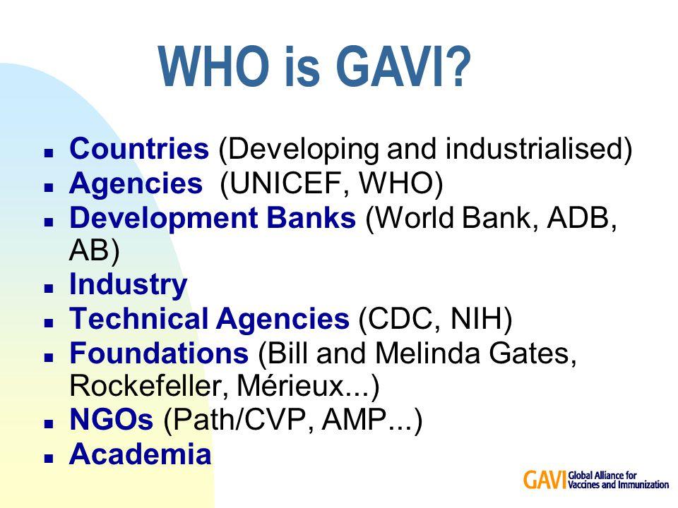 How does GAVI work .