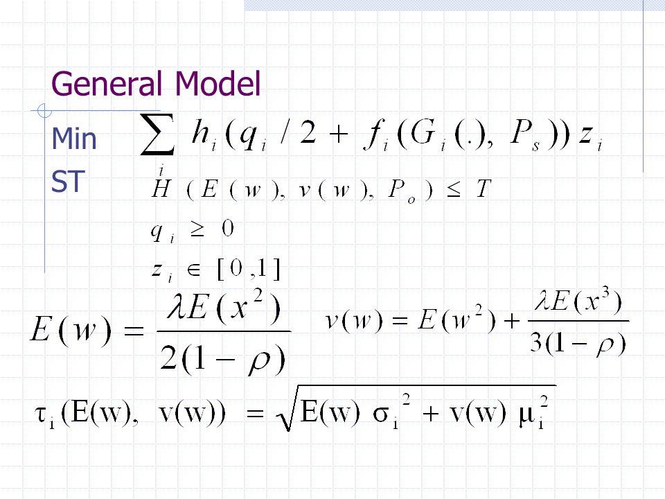 General Model Min ST