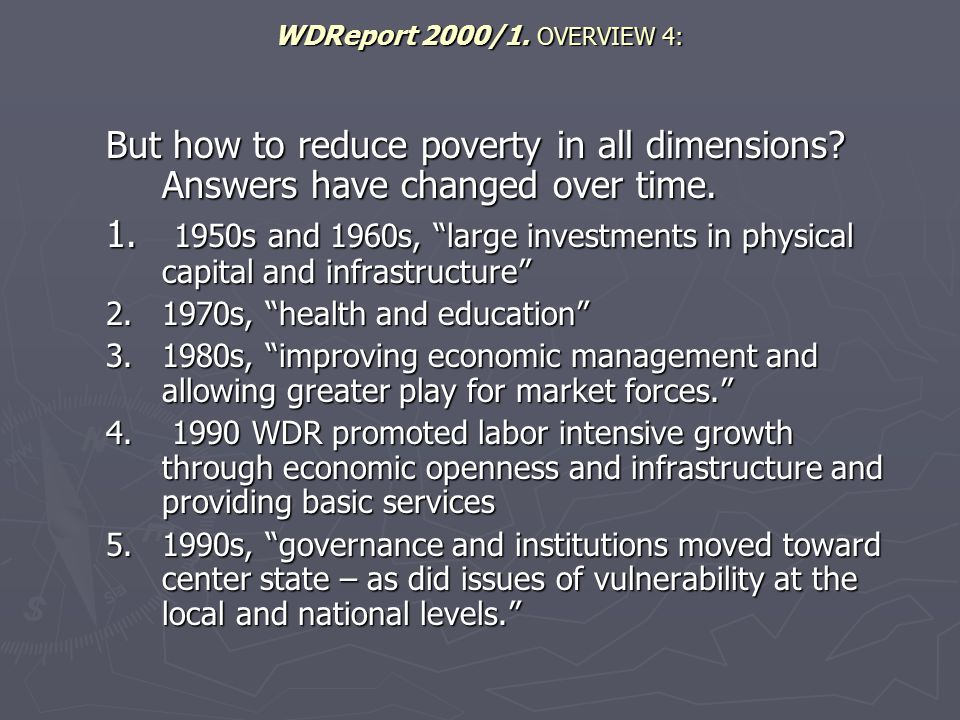 World Bank initiatives 2