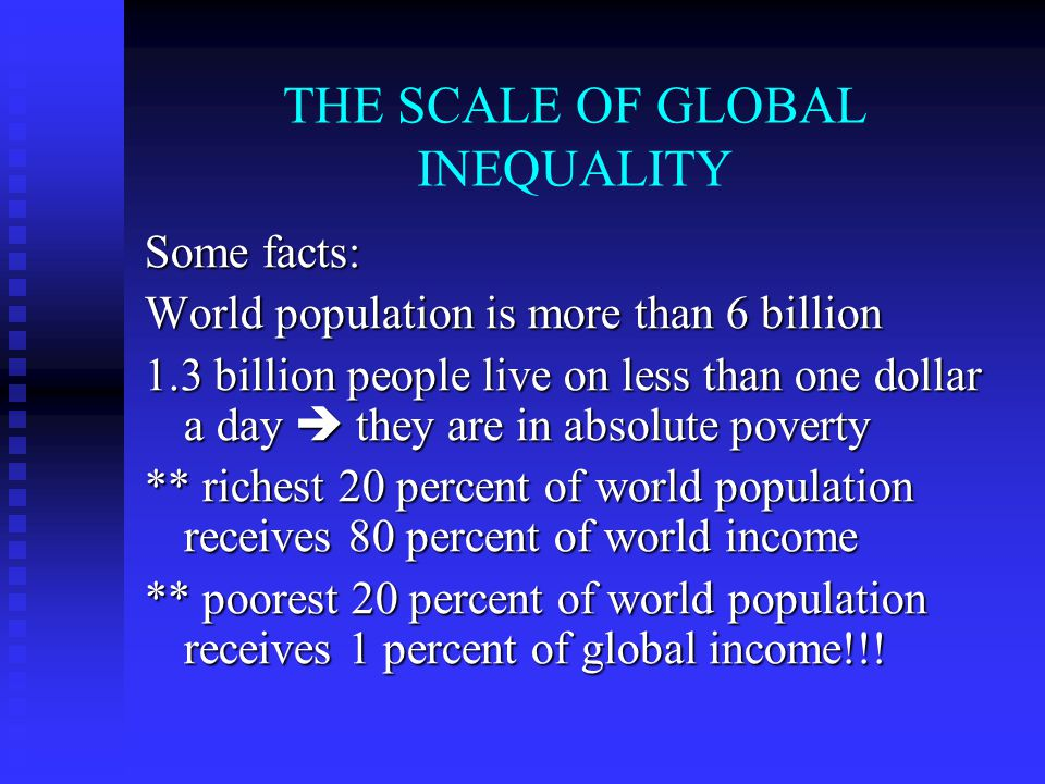 Dependency theory Rich and poor nations are linked economically.