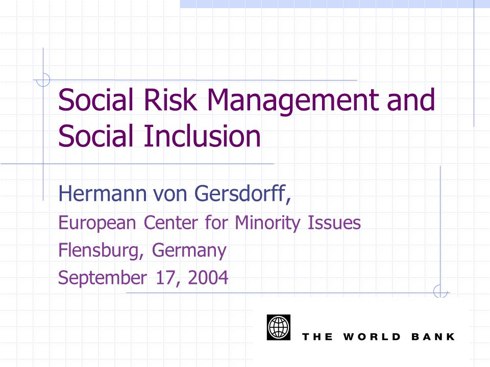 Exclusion is Multidimensional Economic: high unemployment; lack of labor market opportunities; Geographic: marginalized rural settlements and urban ghettos are frequently the poorest (qualitative analysis of Roma in Slovakia); Social/cultural: lack of access to services; language barriers for children attending school/parents interacting with service providers.