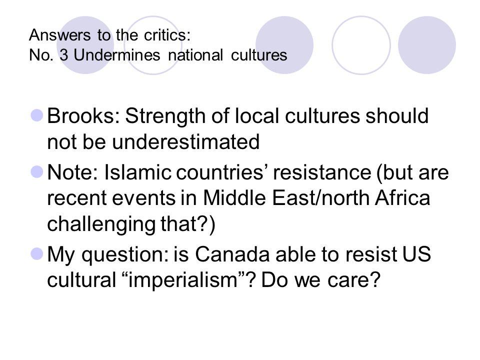 Answers to the critics: No.