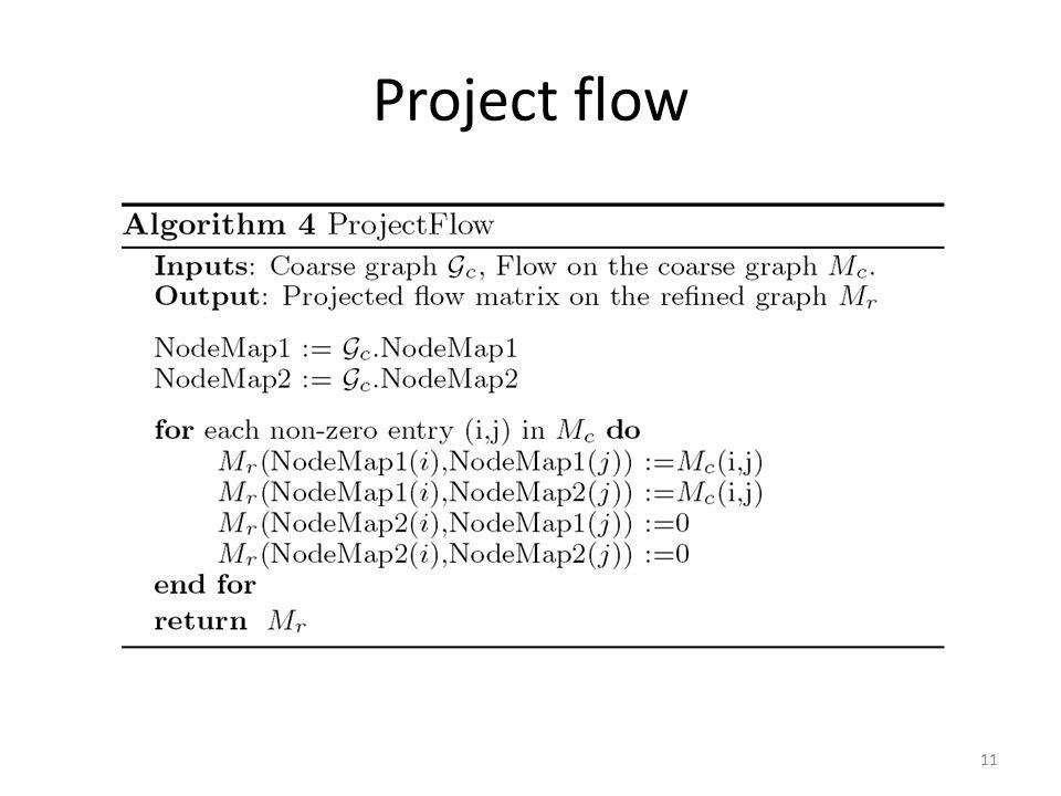Project flow 11