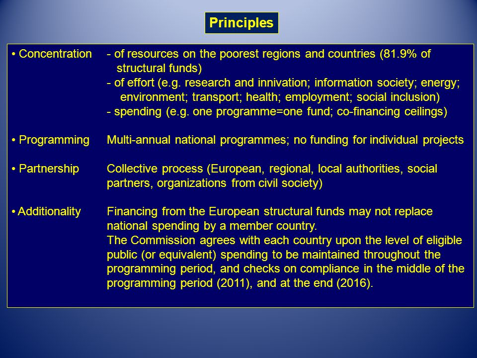 A brief history of European Regional Policy 4