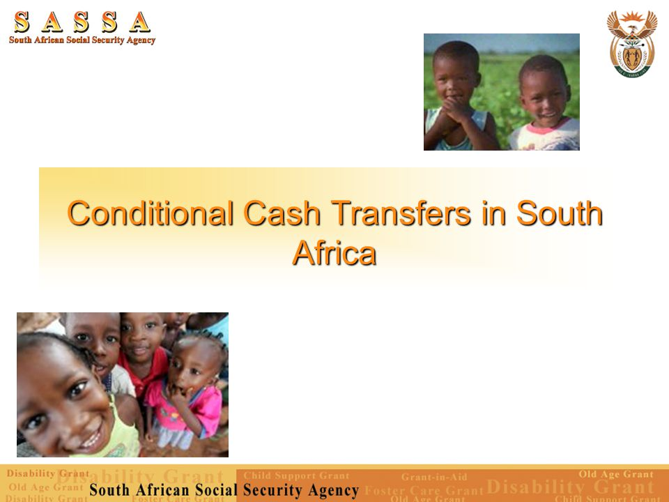 Conditional Cash Transfers in South Africa