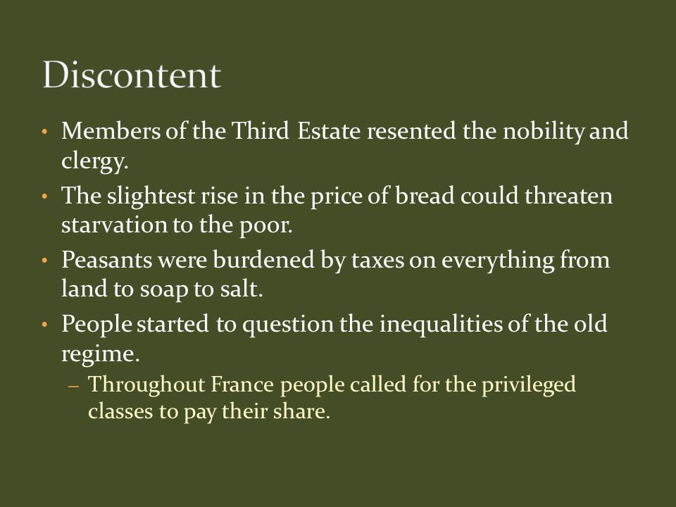 France began to experience an economic crisis due to years of deficit spending, or a government spending more money than it takes in.