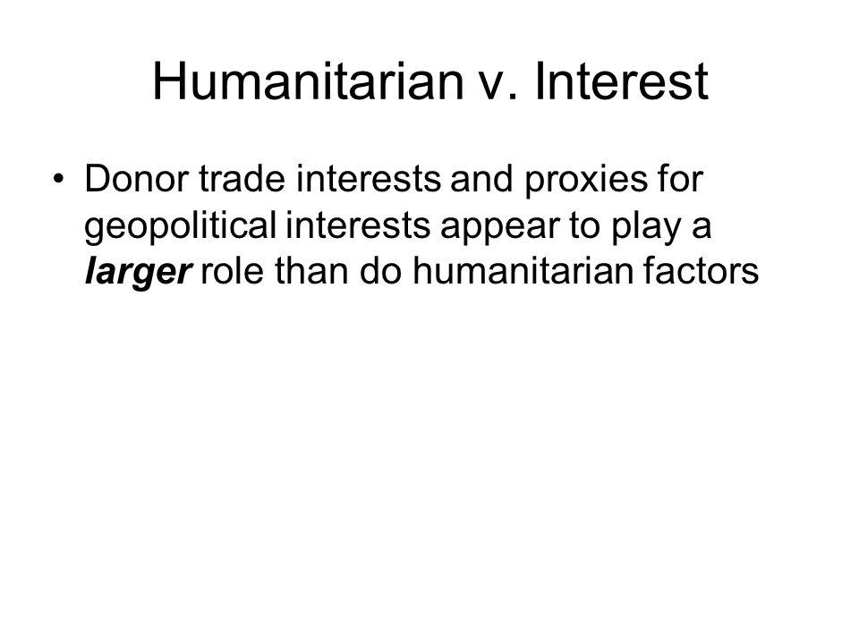 Humanitarian v.