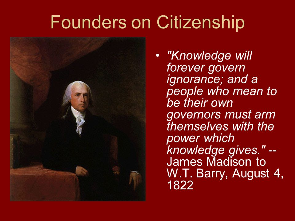 Conclusion The framers of the Constitution recognized that civic engagement was crucial for America.