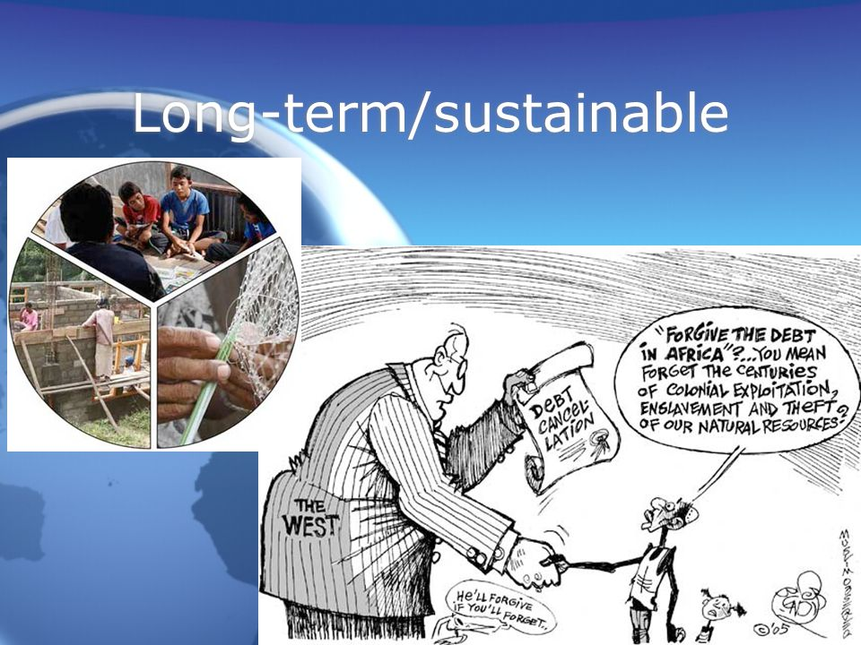 Long-term/sustainable