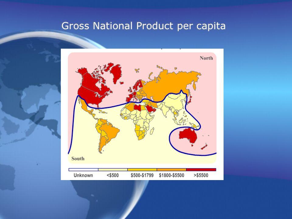 Gross National Product per capita