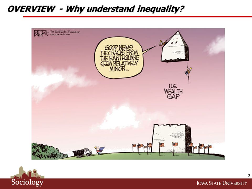 By the numbers … 14 KEY FINDINGS... inequality and socioeconomics.